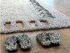 Оригинальные тапочки в ковре