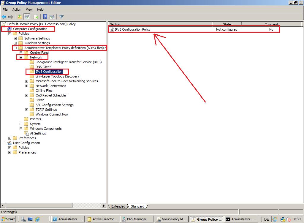 IPv6 Configuration